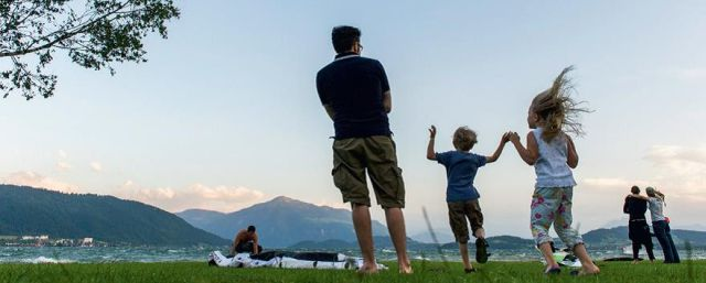 Familie am Zugersee