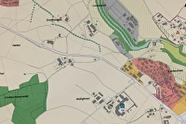 Richtplankarte Siedlung und Landschaft