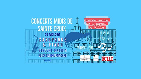 Concert Midis de Sainte-Croix