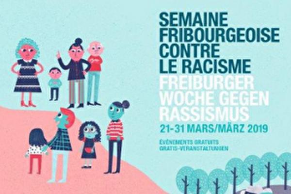 affiche de la semaine contre le racisme