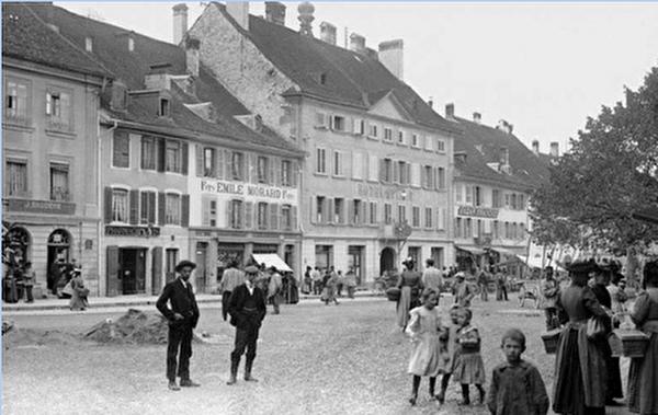 Photo de l'Hôtel-de-Ville de Bulle