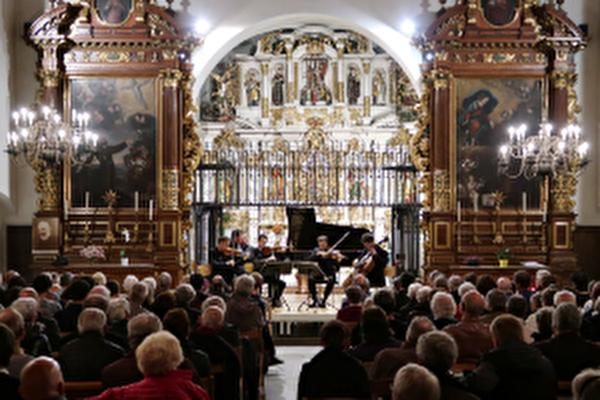 concert à la chapelle Notre Dame de Compassion