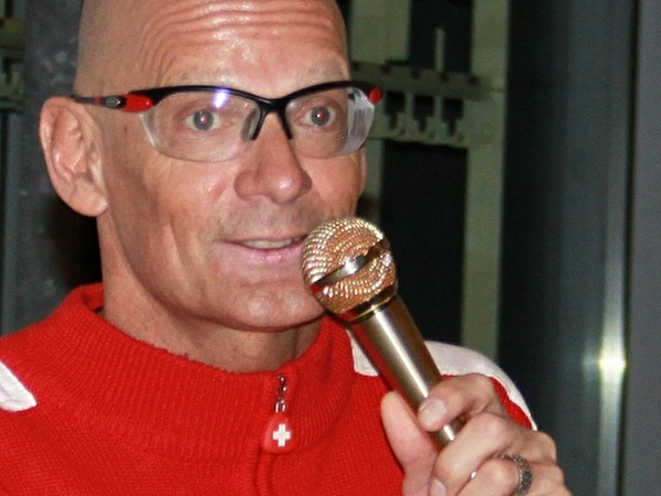 Heinz Frei mit Kulturkommission