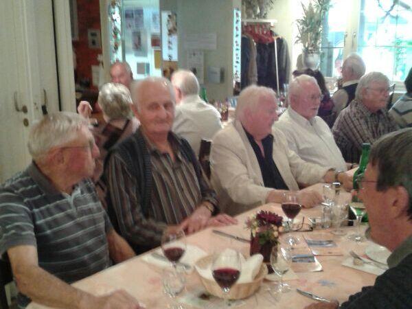 Senioren im Restaurant