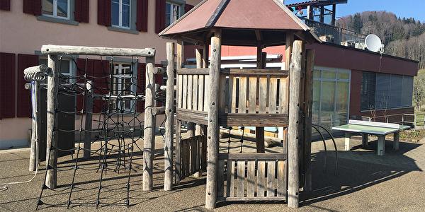 Spielplatz Schulhaus Hittenberg