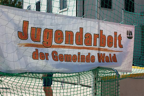 Banner der Jugendarbeit Wald ZH