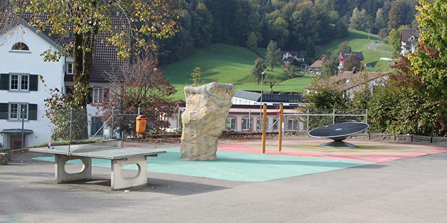Spielplatz Schulhaus Laupen