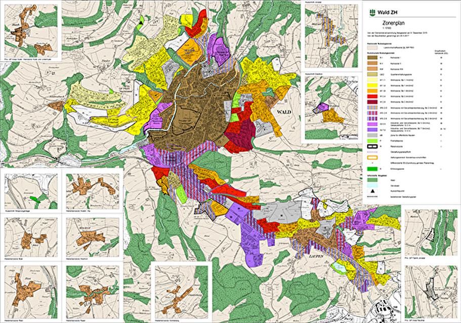 Zonenplan Gemeinde Wald ZH