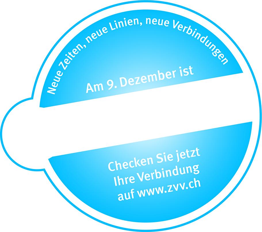 Am 9. Dezember ist Fahrplanwechsel
