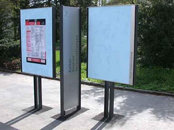 Plakatierung Olten