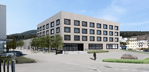 a.en realisiert Betriebsgebäude auf dem Areal Dünnernbogen