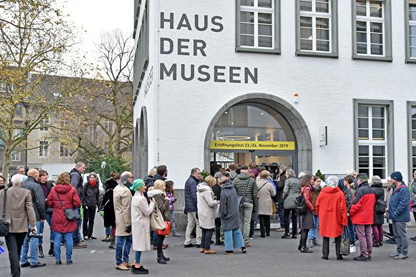 In der zu Ende gehenden Amtsperiode eröffnet: das Haus der Museen