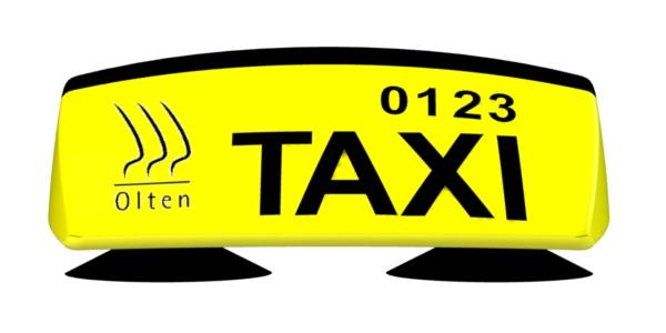 Oltner Taxi-Dachkennbalken