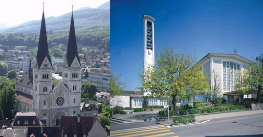 Martinskirche und Marienkirche