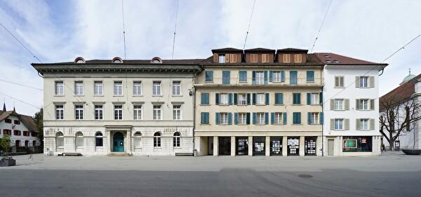Die Museumsgebäude an der Kirchgasse