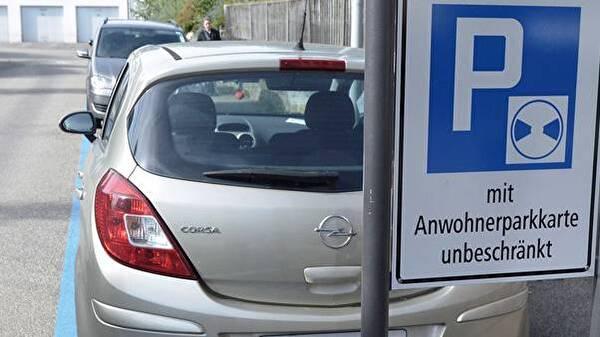 Parkieren für Anwohner