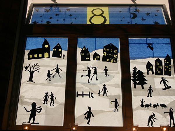 Adventsfenster 2015