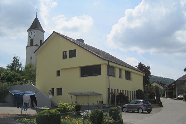 Kirche und Kirchgemeindesaal