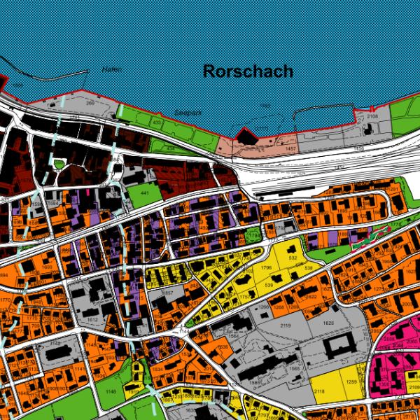 Foto Geodaten Rorschach