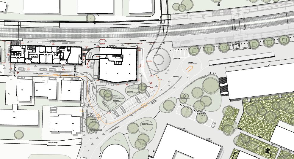 Arealentwicklung Dufourstrasse Ost / Stadtbahnhof Süd - Mitwirkungsverfahren