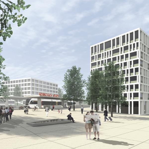 Foto Erweiterung Stadtbahnhof