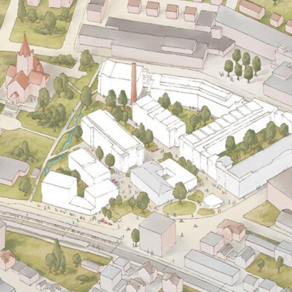 Zeichnung Entwicklung Scapa-Areal