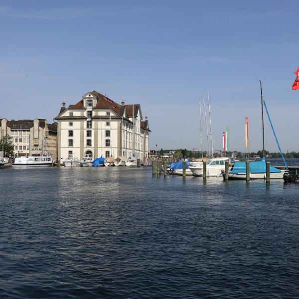 Foto Kornhaus und Hafen