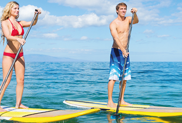 Foto Stand up Paddling
