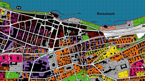 Ausschnitt aus Webseite Geoportal