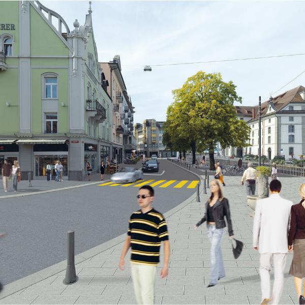 Foto Neugestaltung Hauptstrasse