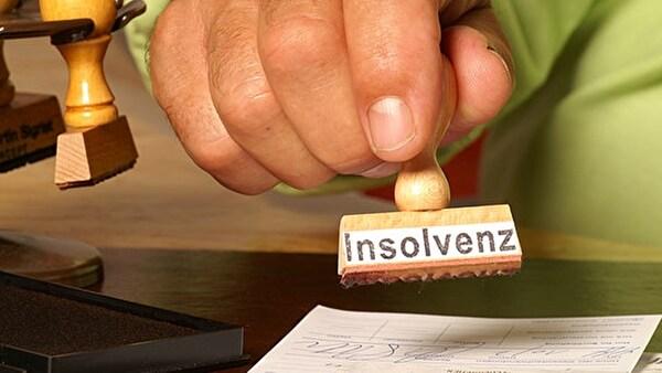 Die Insolvenz bedeutet, dass über das Vermögen eines Schulnders der Konkurs eröffnet wird