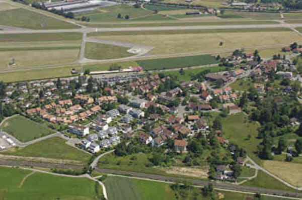 Luftaufnahme Ortsteil Gfenn