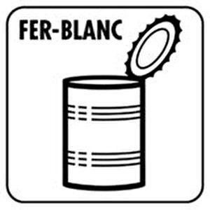 logo fer blanc
