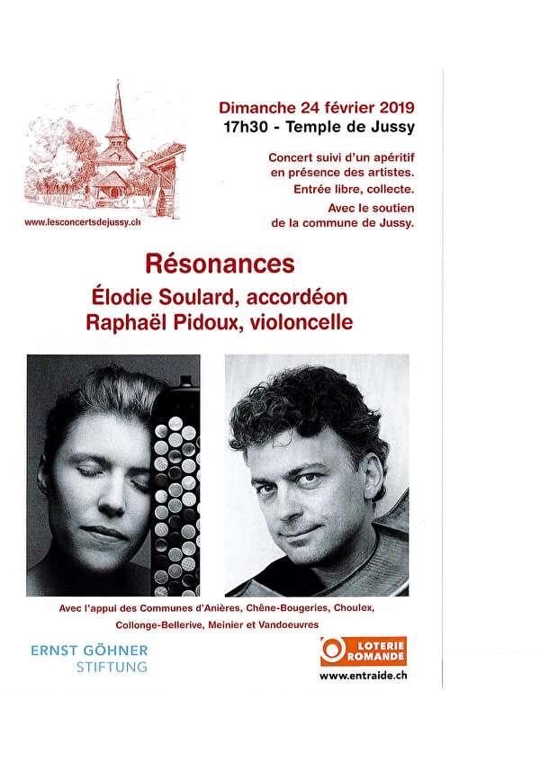 les concerts de Jussy