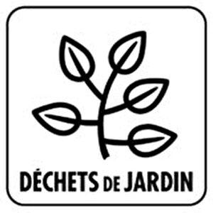 déchets de jardin logo
