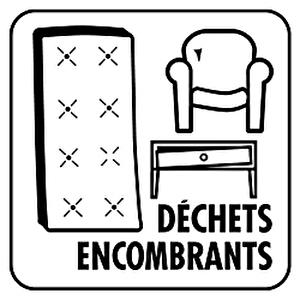 déchets encombrants logo