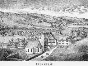 Blick auf Krummenau