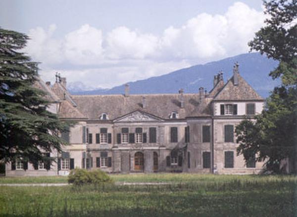 vue du château depuis son parc