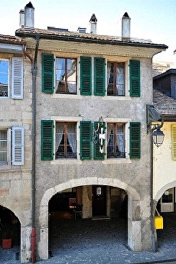 vue de la façade du Musée depuis la Grand-Rue