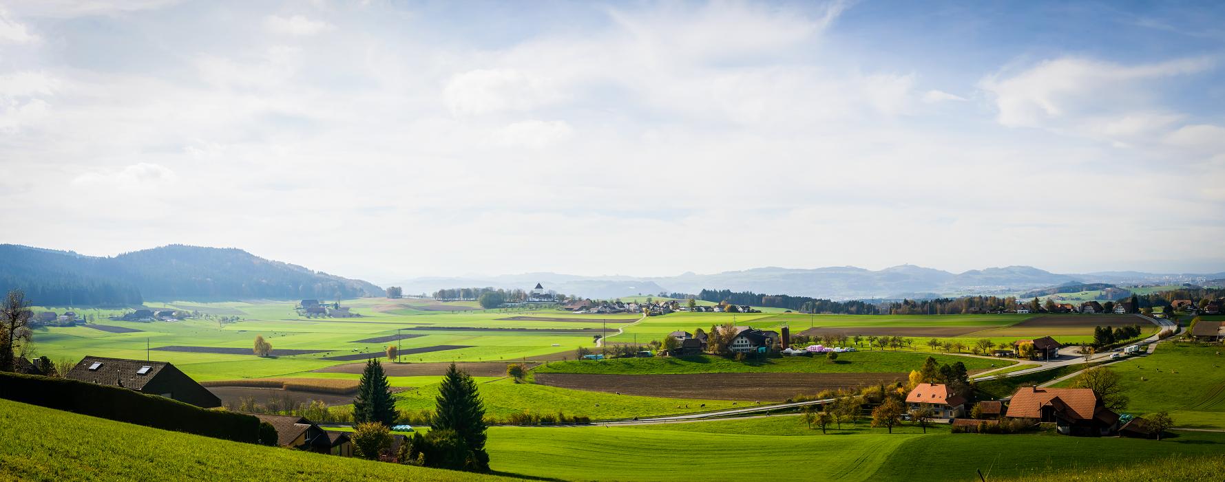 Schlosswil Panorama