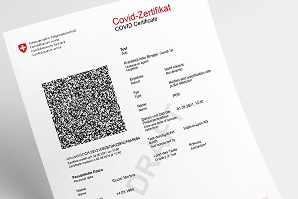 Covid-Zertifikat