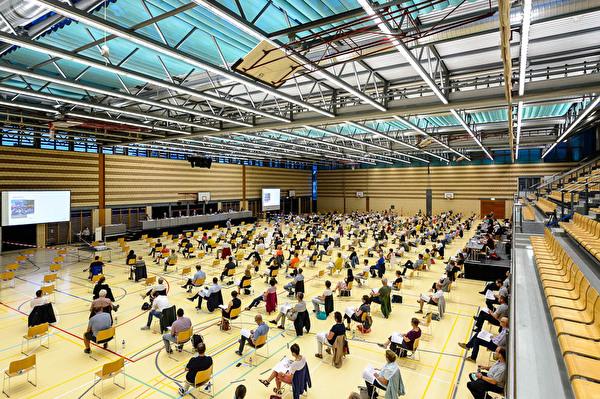 Gemeindeversammlung Waldmannhalle