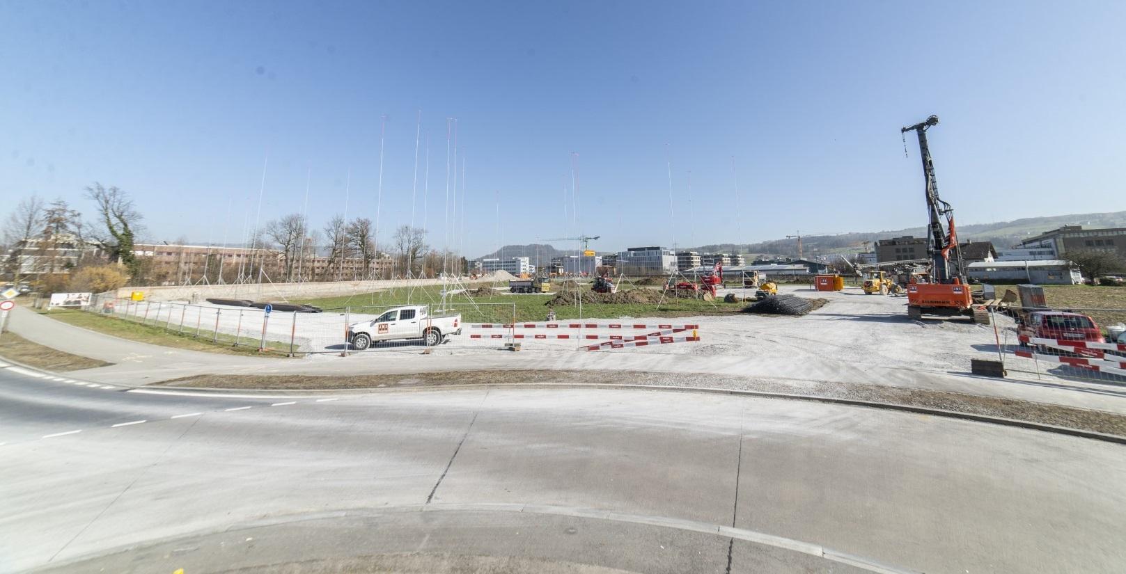 Baustelle Unterfeld Nord