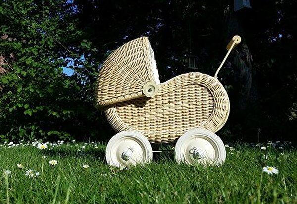 Geburt Kinderwagen
