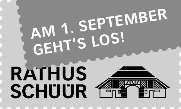 Banner Rathus-Schüür