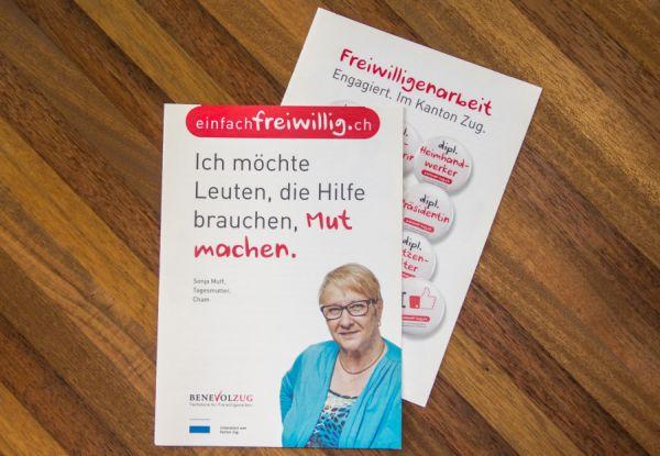 Freiwilligenarbeit Broschüren