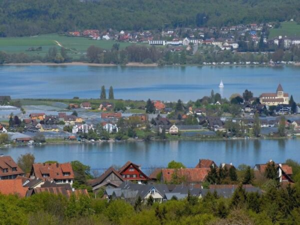 Sicht von Salenstein auf die Reichenau