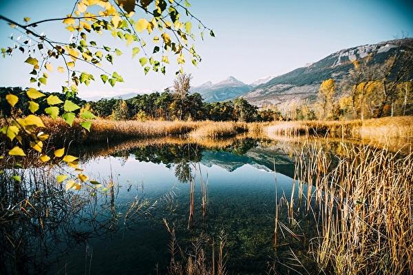 Naturpark Pfyn-Finges Teich