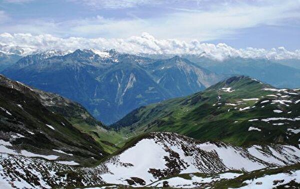Blick über Schnidi - Horlini