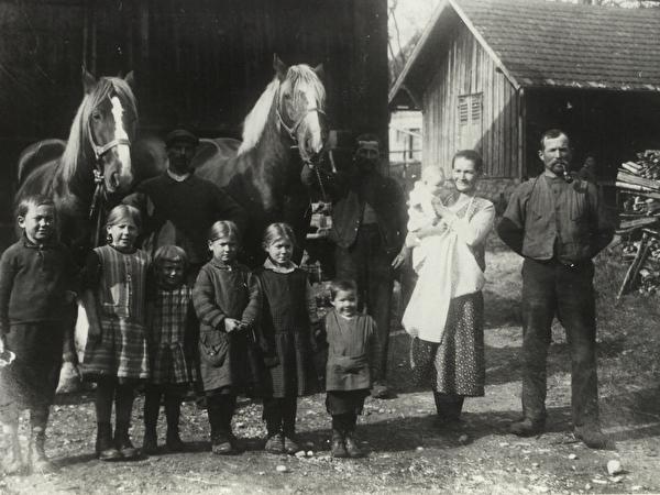 Familie aus Wilen